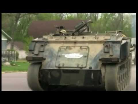 Best Way To Demolish A House: Drive A Tank Straight Through It