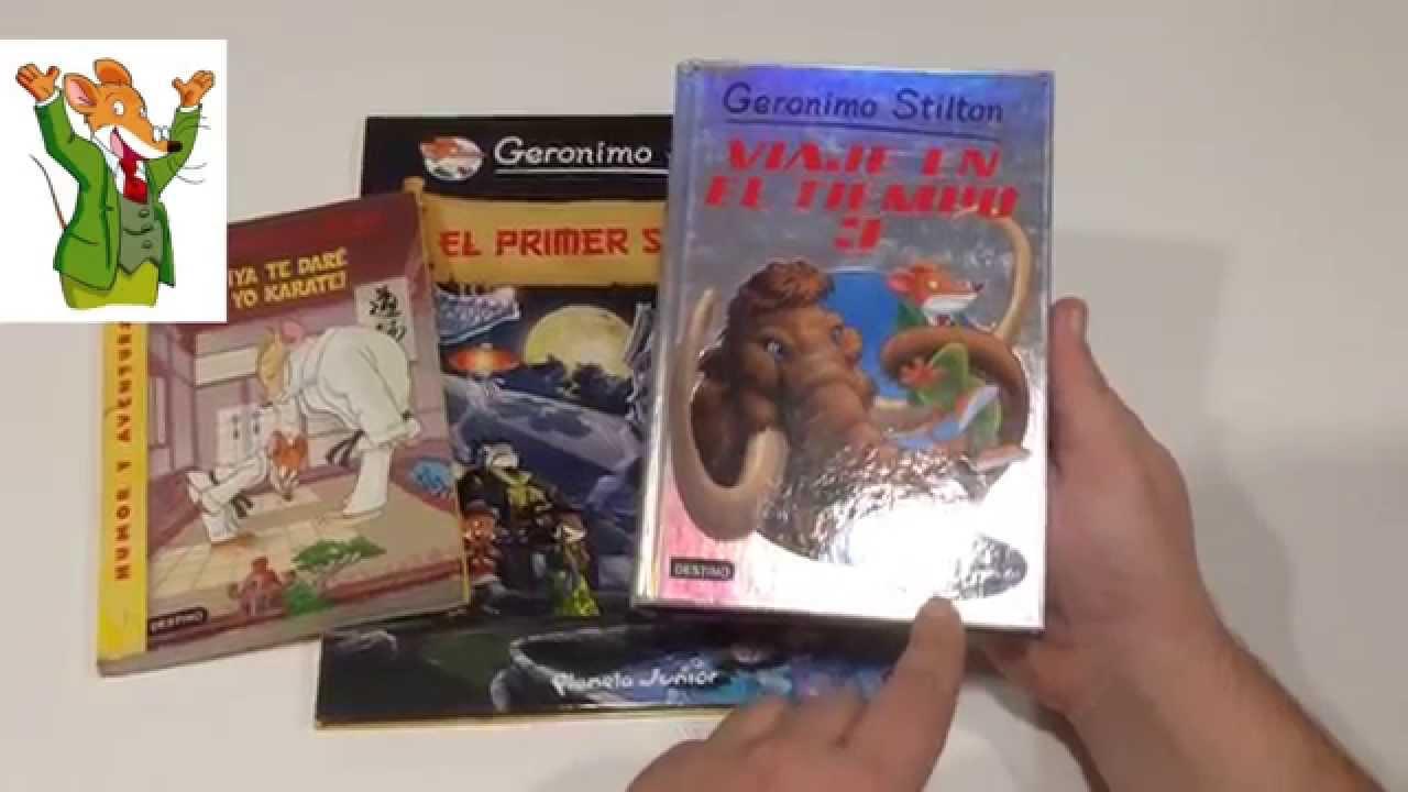 Gerónimo Stilton, la colección.