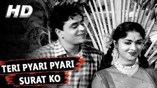 Teri Pyari Pyari Surat Ko   Mohammed Rafi   Sasural 1961