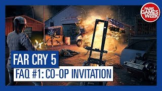 Far Cry 5 - Co-op - How do I invite my friend to play co-op?
