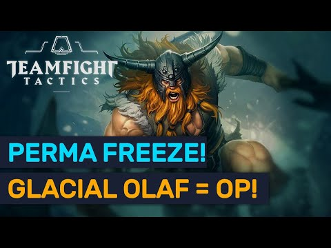 PERMA FREEZE Glacial Olaf! Top Meta Poison Berserker Combo! | TFT | Teamfight Tactics