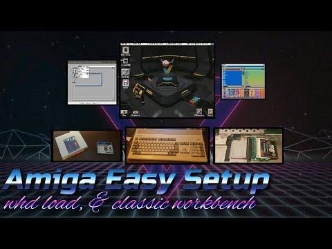 Amiga WHDLoad Auto-Setup (For RetroPie) Install Tutorial - игровое