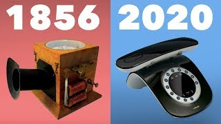 Evolution of the Telephone 1856 - 2020 (Landline)