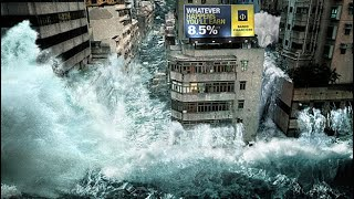 Most Dangerous Tsunamis Caught On Camera | Destroyed In SECONDS!!