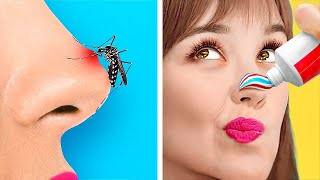 LIFE-SAVING HACKS FOR ALL OCCASIONS! || Genius Tricks And DIYs by 123 Go! Gold