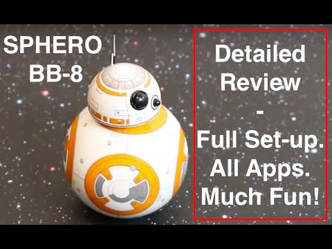 Sphero BB-8 手機搖控機器人 開箱+app操作 影片