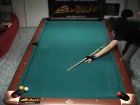 טריקים מדהימים על שולחן הסנוקר!