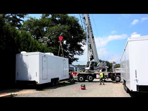 Portable Restrooms Trailer | Park Model Permanent Solution