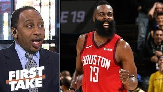 James Harden is 'the greatest scorer in the NBA' - Stephen A.   First Take