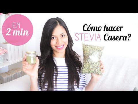 Cómo hacer Stevia Casera En 2 Minutos