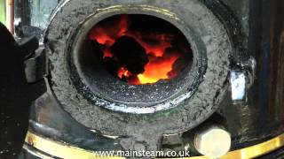 HOW TO COAL FIRE A BOILER - MODEL STEAM ENGINES FOR BEGINNERS #5