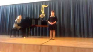 Video krajská pěvecká soutěž  zuš  Ústí nad Orlicí