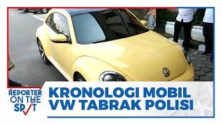 Kronologi Mobil VW Tabrak Anggota Polres Klaten di Pos Prambanan, Polisi Kejar hingga 1 Kilometer
