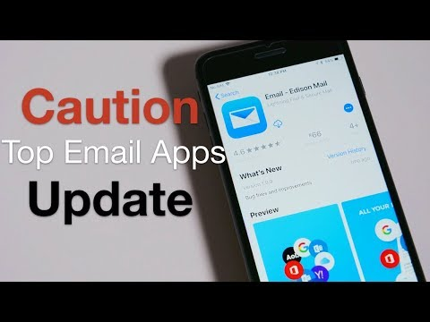 Top Email App Update – Caution, People May Read Your Mail