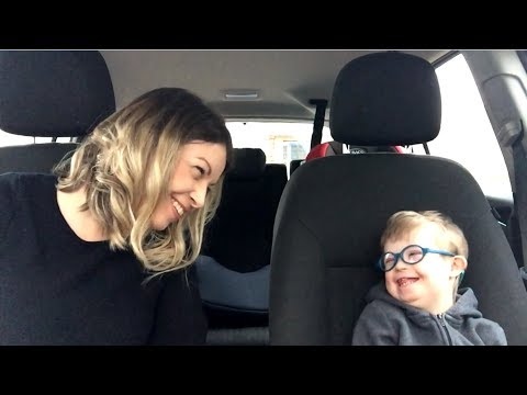 Screenshot of video: Carpool Karaoke -50 Mums 50 Kids 1 extra Chromosome