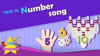 Theme 25. Số bài hát - 123 - Một hai ba | ESL Sông & Câu chuyện