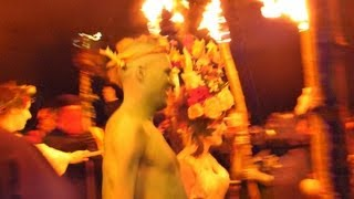 video thumbnail for Beltane Fire Festival 2013