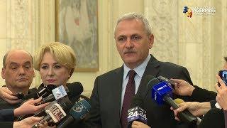 Dragnea: Preşedintele Iohannis a ales stabilitatea prin desemnarea Vioricăi Dăncilă