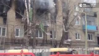 Взрыв бытового газа в Саратове