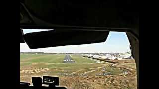 preview picture of video 'Landing at Hildesheim Aeroclub'