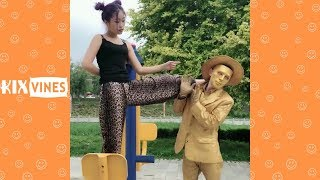 Funny videos 2018 ✦ Funny pranks try not to laugh challenge P6