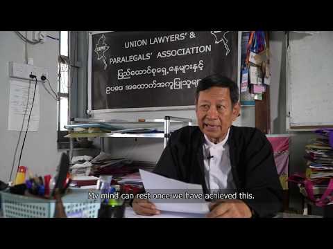 U Kyee Myint, 2020 Schuman Awardee