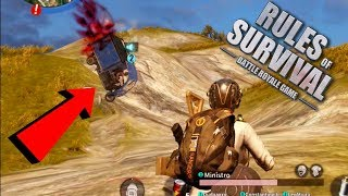 ATROPELA QUE EU DOU BALA 😂😂 KKKK - RULES OF SURVIVAL