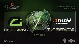 [DOTA 2 LIVE PH]TnC Predator  VS Virtus.pro |Bo2| The International 2018 DAY 2