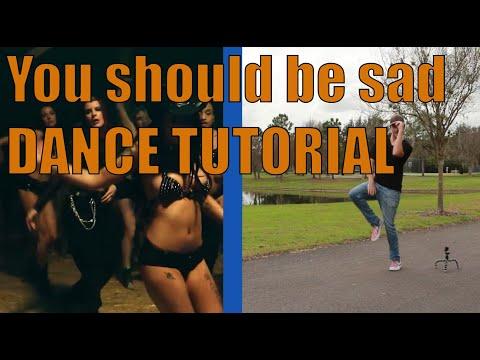 Halsey - You should be sad -- DANCE TUTORIAL
