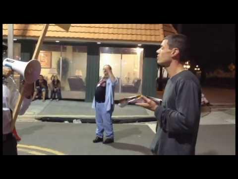 7th Avenue Guavaween Crazy Preacher in Ybor City