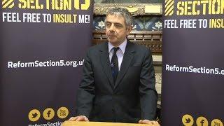 Rowan Atkinson on Free Speech