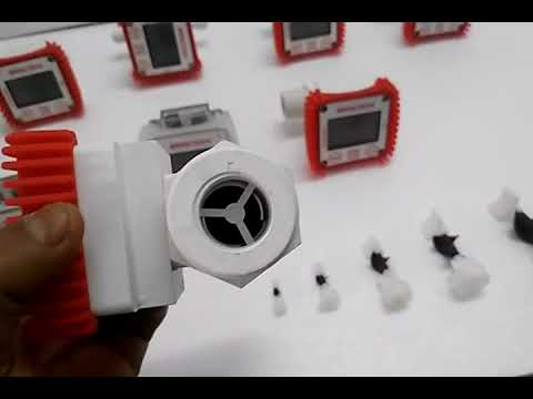 Plastic Digital Water Meter