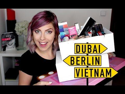 Nákupy a Novinky: Listopad + Dubai + Vietnam + Berlin 2017