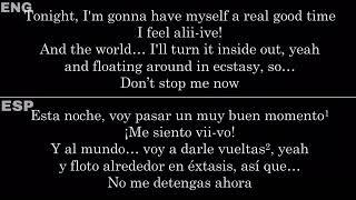 Don't Stop Me Now (Queen) — Lyrics/Letra en Español e Inglés