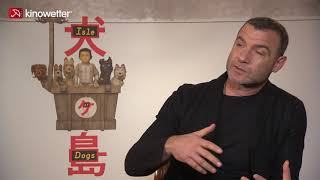 Interview Liev Schreiber ISLE OF DOGS