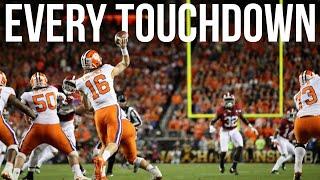 Every Clemson Touchdown   2018 College Football Season