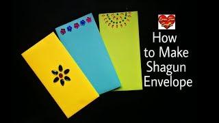 How to Make Shagun Envelope    DIY - Gift Envelope (Requested Video)