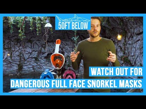 Dangerous Full Face Snorkel Masks | How to avoid them!