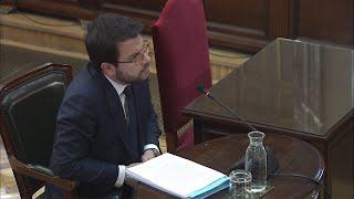 Tribunal Exime A Aragonès De Declarar Como Testigo En El Juicio