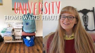 First Year University Homeware Haul!