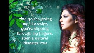 Cheryl Cole - The Flood - Lyrics on screen