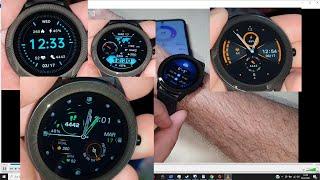GOKOO SN93 Smartwatch IP68 Wasserdicht Touchscreen Sauerstoff Pulsuhr Whatsapp Benachrichtigungen