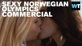 Sexy XXL 'Airport Love' Norwegian Olympics Ad | What's Trending Now