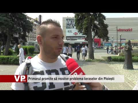Primarul promite să rezolve problema teraselor din Ploiești
