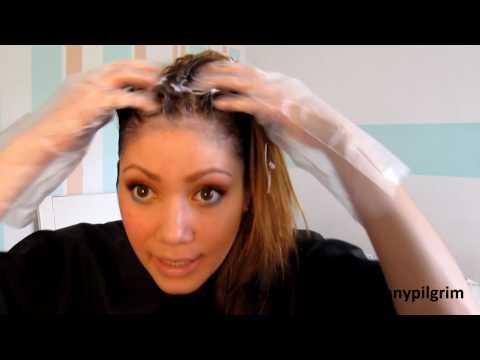 Kefirnaja die Maske für das Haar und die Vitamine