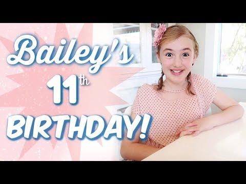 Bailey's Birthday SPECIAL! (видео)