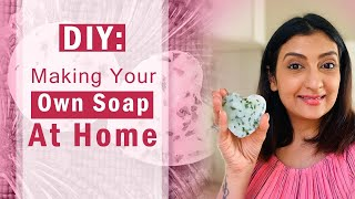 DIY: Making Your Own Soap At Home L Organic Aloe Vera Soap At Home