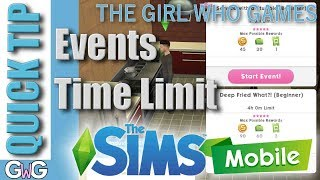 The Sims Mobile- What happens if you don't complete an event in the time limit? [QUICK TIP]