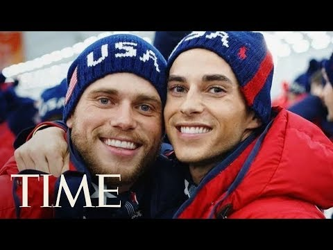 Gus Kenworthy On His 'Instant Friendship' With Adam Rippon: 'Sparks Flying'   TIME