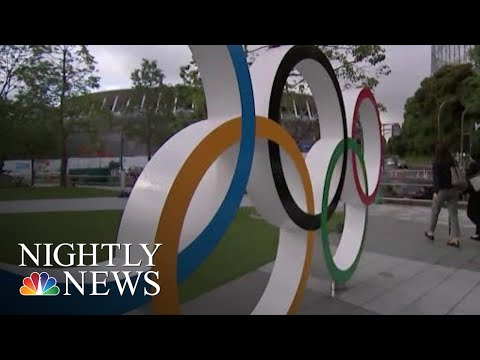 One Year Out From The Olympics, Tokyo Is Ready For Its Close Up | NBC Nightly News